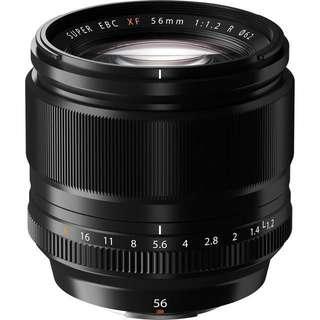 BNIB Fujifilm 56mm f1.2 lens