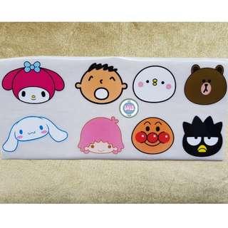 PVC Cartoon Stickers