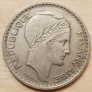 1947 France 10 Francs Coin