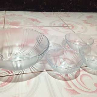 REPRICED!!! 5pc Dinner Bowl Set