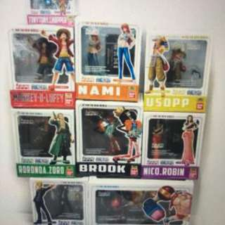 Figuarts Zero One piece New world set