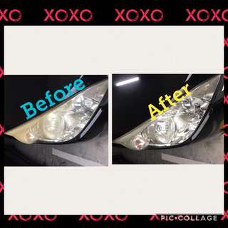 Headlight Restorations #save #noyellowish