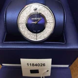 sawaski crystal watch 施華洛世奇水晶手錶