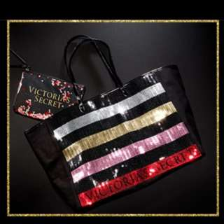 Victoria's Secret Black Friday Bling Tote and Mini Bag