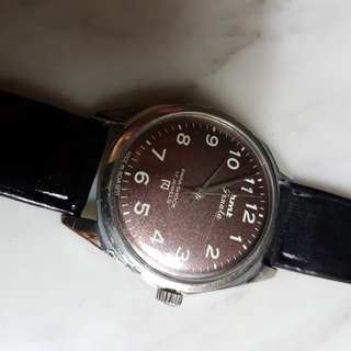 Vintage hmt Janta 17J Hand Wind Men Watch (NOS).