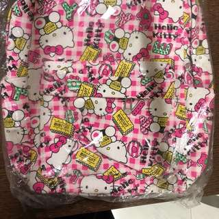Hello Kitty pink back pack