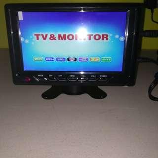 Wide LCD Mini Monitor / TV