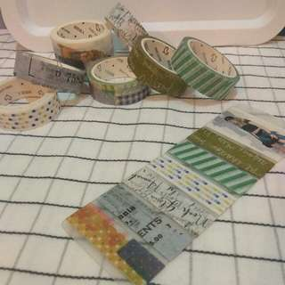 Basic Washi Tape Pack