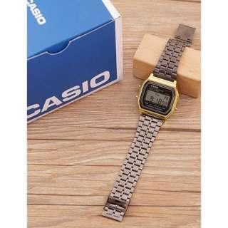 Casio black & gold