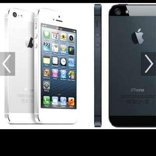 Preloved Iphone 5G 16GB