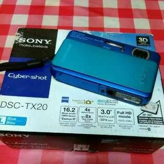 Sony Tx20 Waterproof Cam