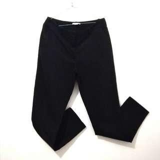 Celana Katun Hitam H&M Size 38 (M/L)