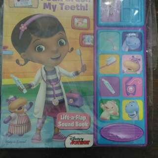 Buku anak mcstuffin i can brush my teeth