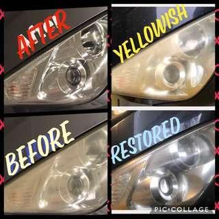 Headlight Restoration #atyourpreferredlocation #save #shinelikeadiamond