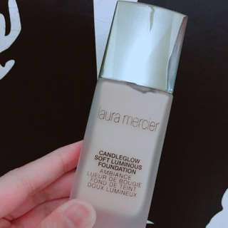 Laura mercier candleglow soft luminous foundation 燭光聚焦粉底液