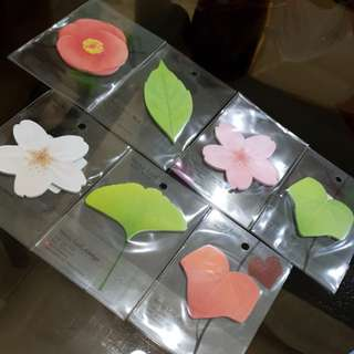 Sticky leaf Post its
