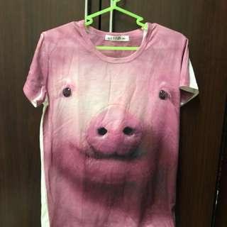 🚚 豬頭短t