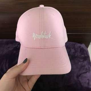 Woodstuck 潮牌粉紅色帽子