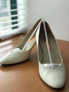 Rupert Sanderson white pumps