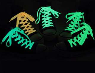 Glow in the dark shoes laces