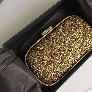 Anya Hindmarch Glittering Clutch (complete new with box)