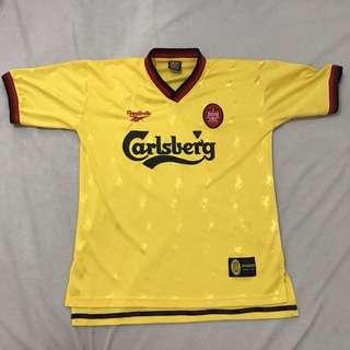Retro Liverpool Football Jersey