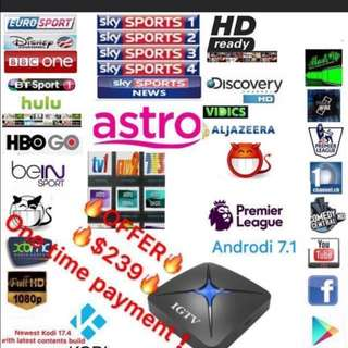IGTV IPTV TV BOX ONE TIME PAYMENT NO MONTHLY SUBSCRIPTION LIFETIME STREAMING