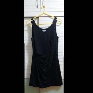 H&M黑色晚裝連身裙