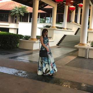 Doublewoot Floral Long Dress