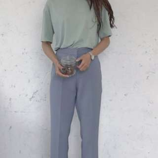 Ash Blue cigarette pants