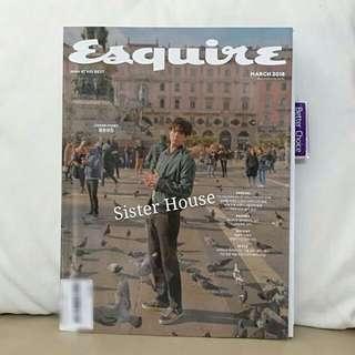 (現貨)🇰🇷ESQUIRE March Magazine 3月號朴寶劍雙封面雜誌