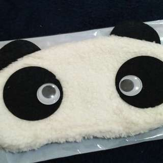 Panda eye mask (googly eyes)