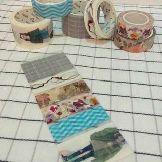 Basic Washi Tape Pack 5