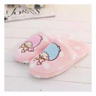 Little Twin Star Bedroom Slippers - With Anti-Slip Soles!