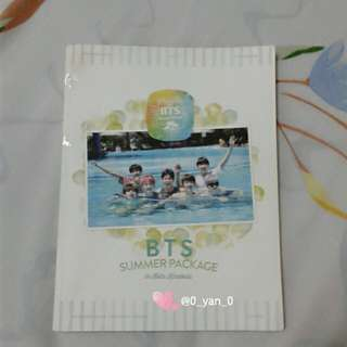 [WTS Only] BTS 2015 Summer Package in Kota Kinabalu Photobook