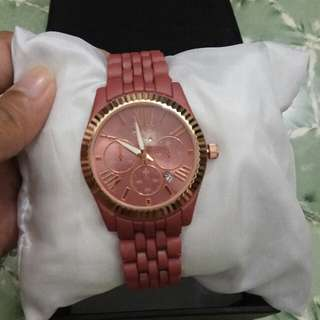 Jam Tangan Defollie Time Peach D.3,5cm