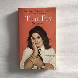 Bossypants book by Tina Fey