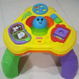 Fisher Price Lights and Sound Activity Table