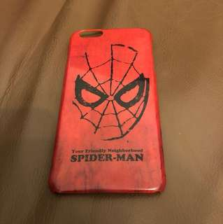 Spider man iPhone case 6plus