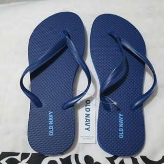 Old Navy Slippers (Navy Blue)