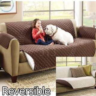 Reversible 2 seater cover