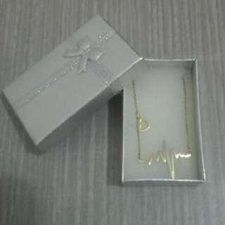 Heartbeat Necklace STAINLESS STEEL