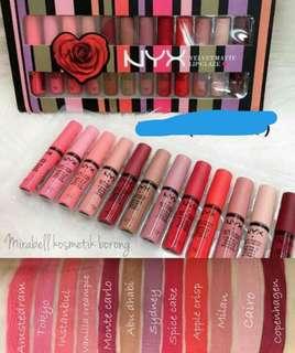 Nyx lipstick set (inspired)