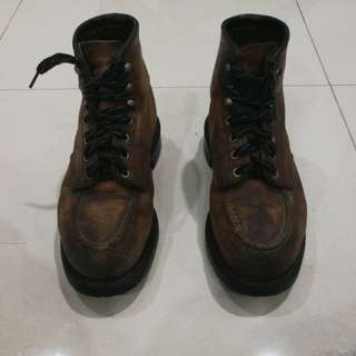Authentic Redwing Boots