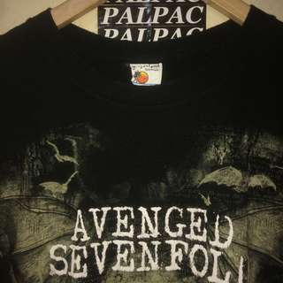 Ts Avenged Sevenfold tag bay island sz M ©2013 bravado