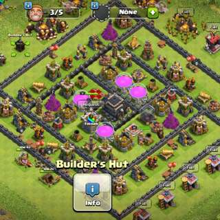 Clash Of Clan Account