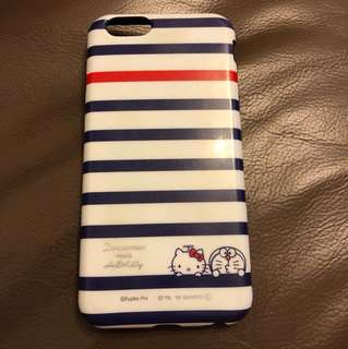 Doraemon & Hello kitty iPhone case 6/6s