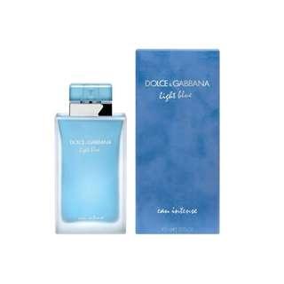 Dolce and Gabbana Light Blue Eau Intense for Women 100ml