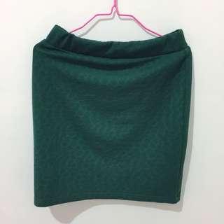 Bodycon Green Skirt