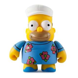 THE SIMPSON'S 25TH ANNIVERSARY MINI SERIES - Fat Hat Homer